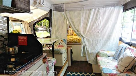 privacy curtains for rv carolyn s pop up cer makeover the pop up princess