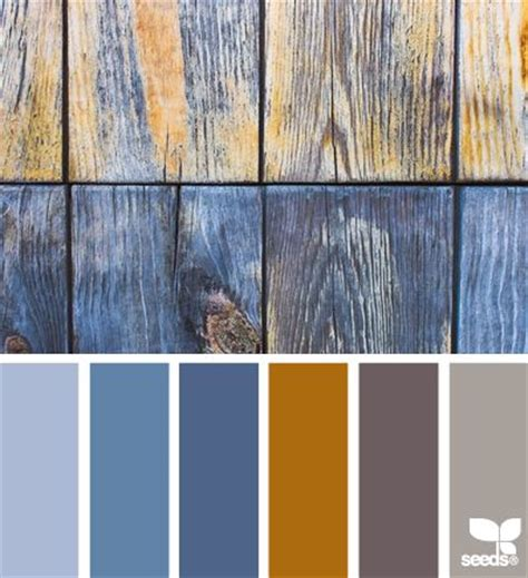 rustic blues color combos i like