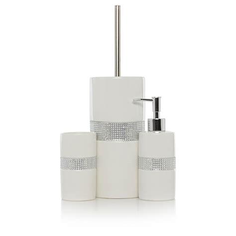 asda bathroom accessories george home ceramic bling bathroom accessories bathroom