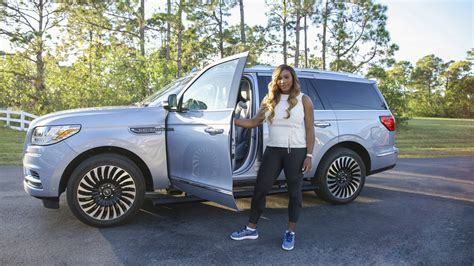 lincoln partners with serena williams in 2018 navigator s