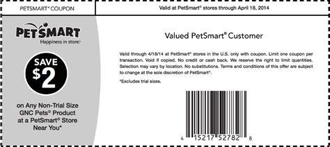 Petsmart Printable In Store Coupons