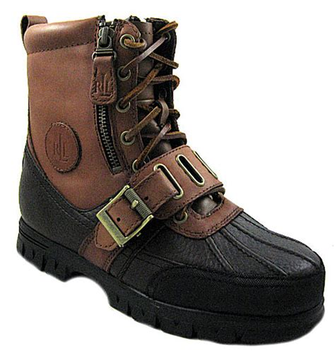New Polo R L Womens Quanita Briar Boots Shoes Us