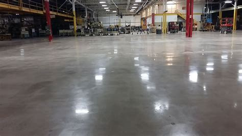 Polished Concrete Floors At Hart & Cooley Inc