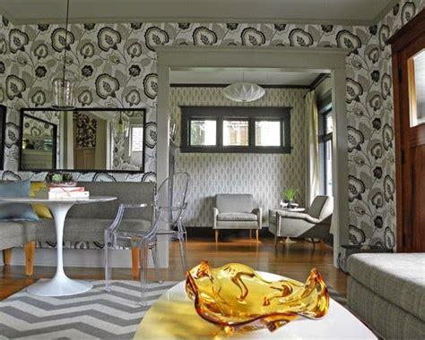 wallpaper dinding triplek meriahkan interior dengan wallpaper ruang tamu minimalis