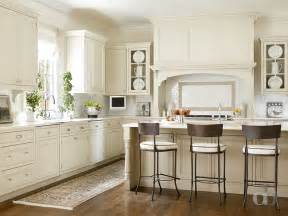 ivory shaker kitchen cabinets transitional kitchen