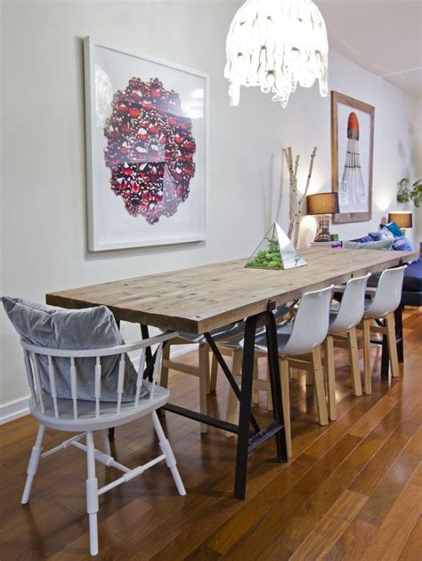 dining table eclectic chairs decorative dining table