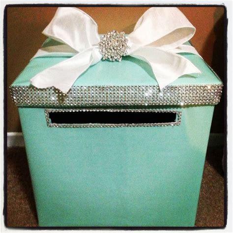 Bridal Shower Gift Card Box - my breakfast at tiffany s bridal shower busta box breakfast at tiffany s bridal