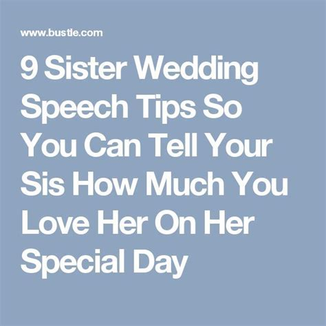 Best 20  Sister wedding speeches ideas on Pinterest   Maid