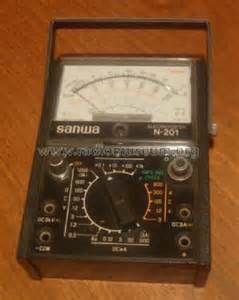 Multimeter Analog Sanwa sanwa analog multimeter schematic diagram
