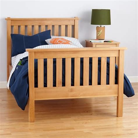 land of nod bed the land of nod kids beds kids natural simple bed in