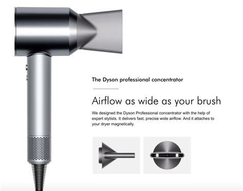 Silent Hair Dryer Dyson by Dyson S Product A Quot Silent Quot Hair Dryer