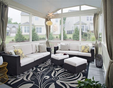 screen porch decorating ideas 5 ways to create an outdoor room st louis decks