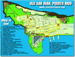San Juan Puerto Rico Map by Map Of Old San Juan Puerto Rico Close Window Puerto
