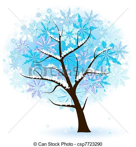 Flower Decoration At Home by Vector Clipart Of Stylized Winter Fruit Tree Illustration
