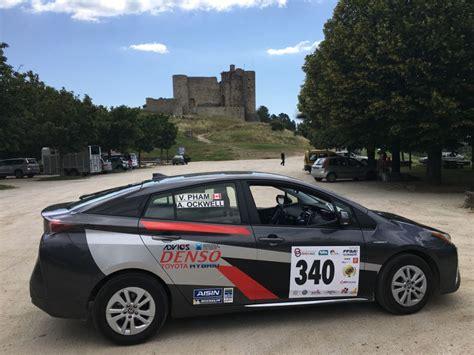 toyota canada inc office toyota canada team wins big at 2016 n 238 mes al 232 s eco rally