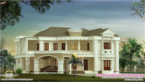 kerala home design kozhikode 3500 sq feet luxury villa kerala home design and floor plans