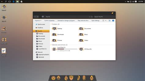 Unity Theme For Windows 10 | unity theme for win10 by hamed1987s on deviantart