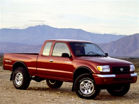 Toyota Tacoma Reliability 1999 Toyota Tacoma Specs Safety Rating Mpg Carsdirect