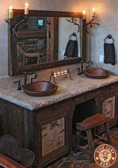 Rustic Bathroom Decor Ideas 30 Inspiring Rustic Bathroom Ideas For Cozy Home Amazing Diy Interior Home Design