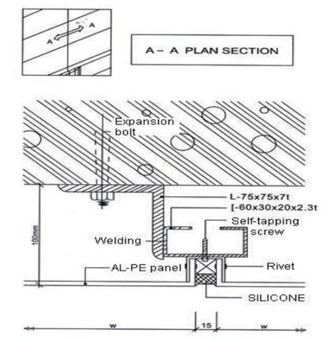 building regulations section j installation procedures aluminium composite panel