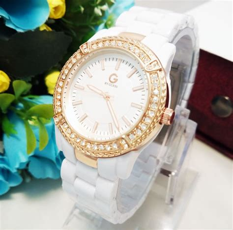 Jam Tangan Cewek Korea jam tangan wanita guess yora cantik dan murah