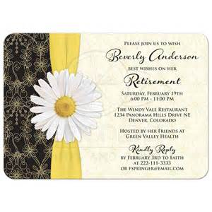 retirement invitation wording invitations templates