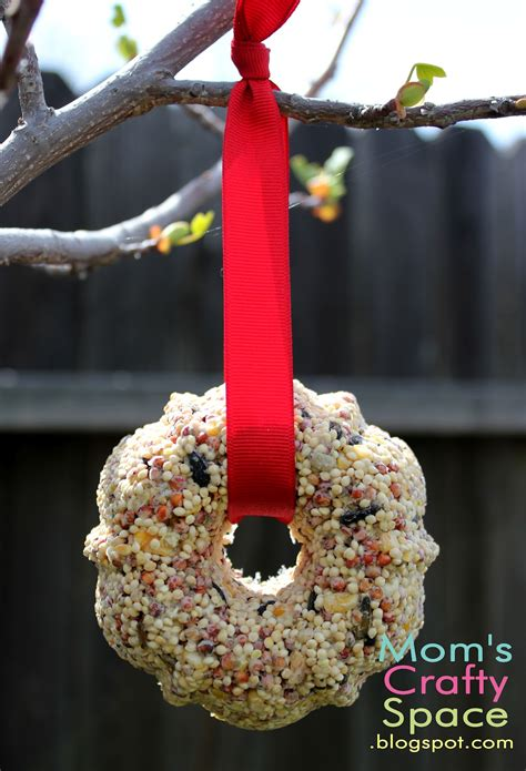 Bird Feeder Ornament bird seed ornaments happiness is