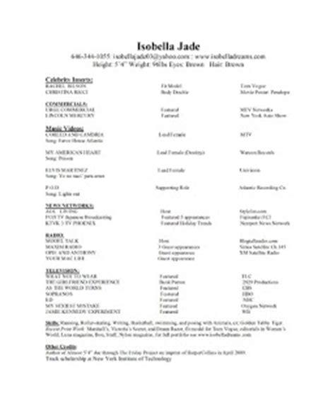 Resume Headshot Tips isobella jade s modeling tips headshot and resume
