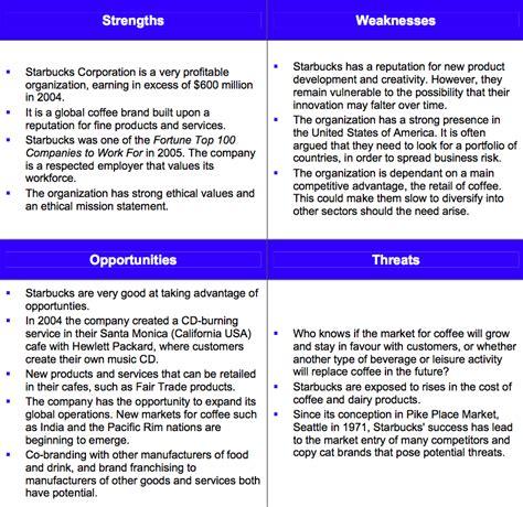 starbucks swot analysis 2013 by strategic management insight