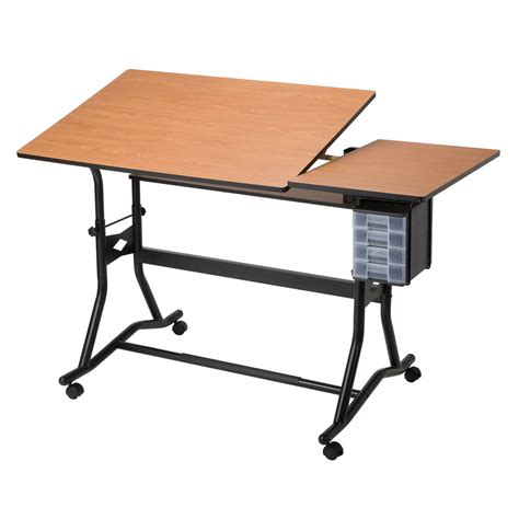 Drawing Desk by Alvin Craftmaster Iii Split Top Drafting Table Drafting