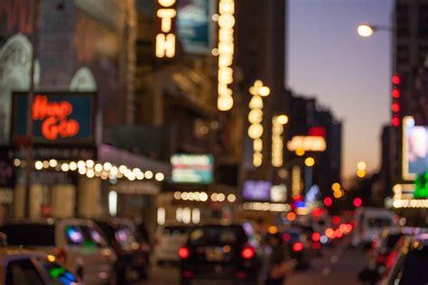 Broadway Lights by New York City In Three Days