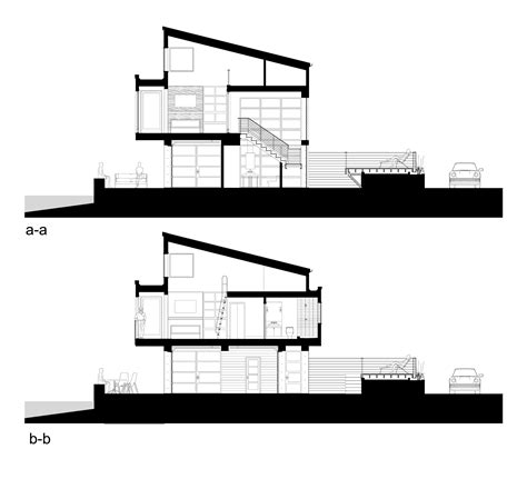 section 52 planning tsunami house designs northwest architect archdaily