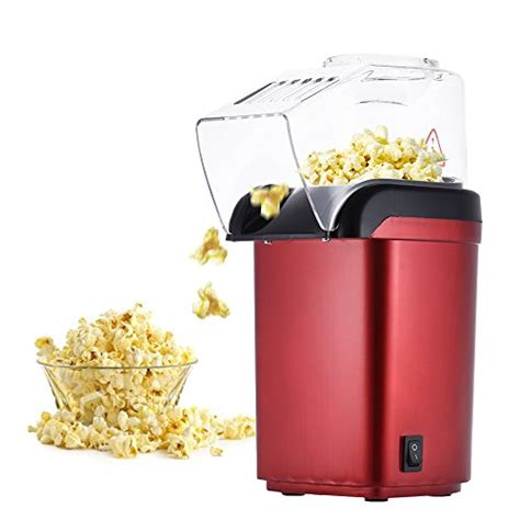 Homgeek 1200w Mini Household Healthy Air Free Popcorn Maker electric corn popper collectibles