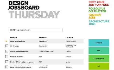 pattern jobs board design job boards to get work creative beacon