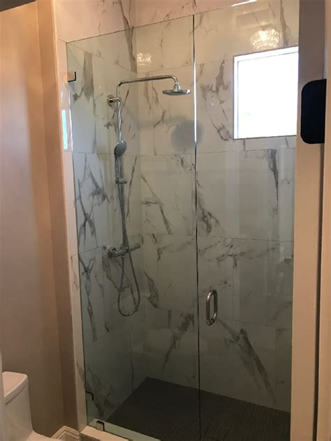 Large Glass Shower La Jolla Large Glass Shower Install Patriot Glass And