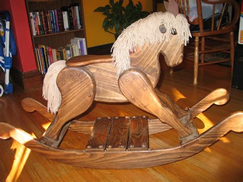 woodwork plans  wood rocking horse  plans