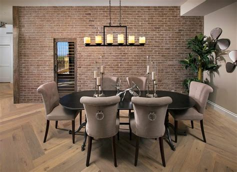 Brick Wall Dining Room by 46 Original Dining Room Decor Ideas With Exposed Brick Wall