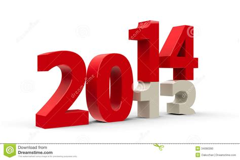 new year represents 2013 2014 stock photo image 34090390