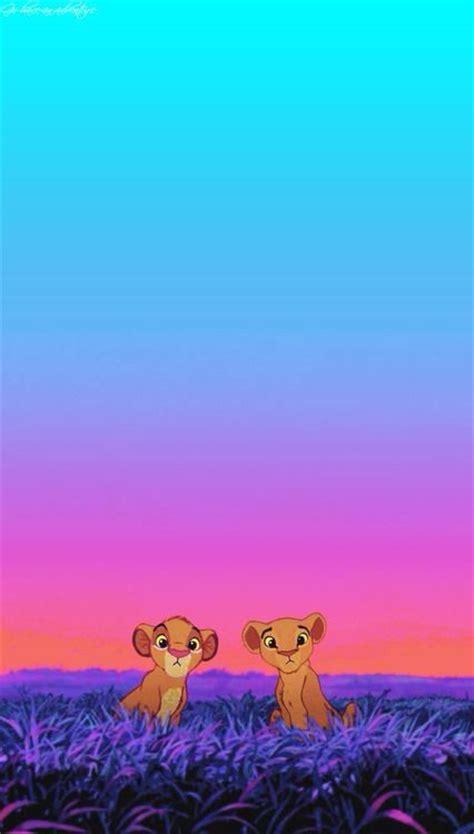 wallpaper cute disney simba and nala loving iphone wallpaper disney