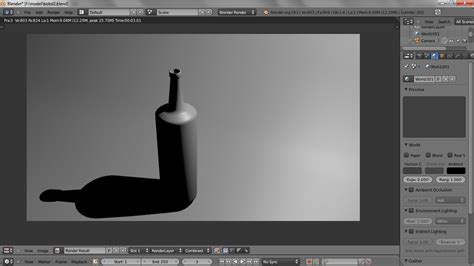 Blender Yang Biasa blender tutorial newbi bab 3 implementasi light modelling