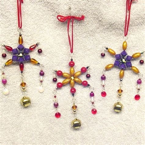 Handmade Beaded Ornaments - 50 handmade ornaments ideas cathy