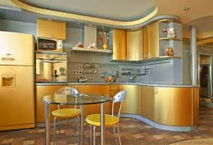kitchen design ideas org a modern gold kitchen with curved cabinets