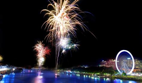 new year 2018 brisbane events new year fireworks and celebrations south bank brisbane