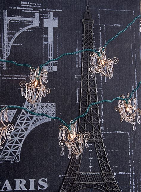 String Light Chandelier Mini Acrylic Chandelier String Lights 16ft