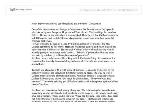 Tempest Essay by Tempest Essays Speechmechanism Web Fc2