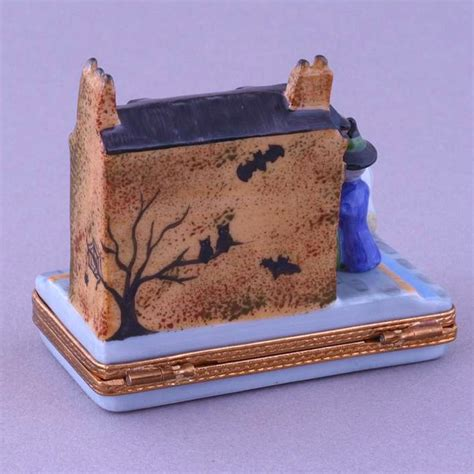 limoges halloween gift shop box  cottage shop