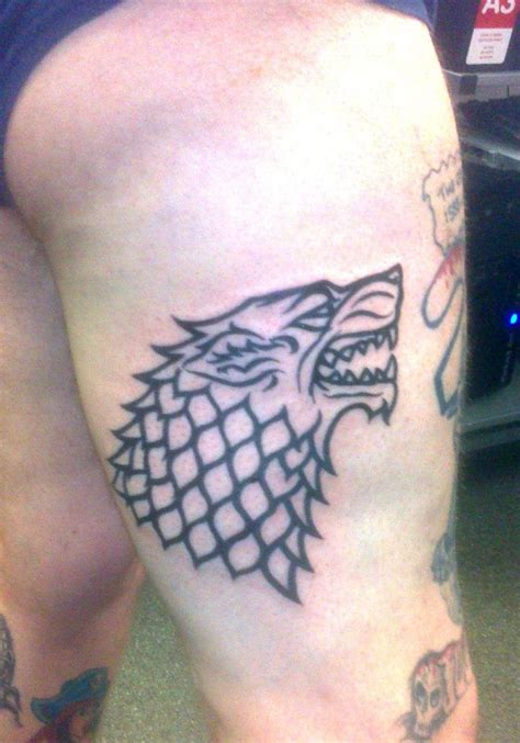 dire wolf tattoo dire wolf by howcomehesdead on deviantart