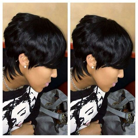 piece quick weave short hairstyle cute  piece weave