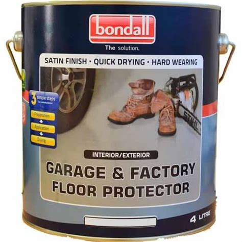bondall garage factory floor protect paint paving