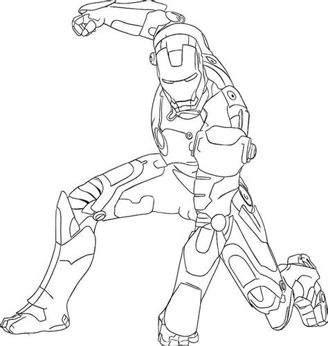 easy iron man coloring page ironman coloring pages for kids coloring home
